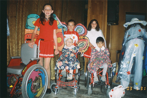 Theater for teenagers with special needs